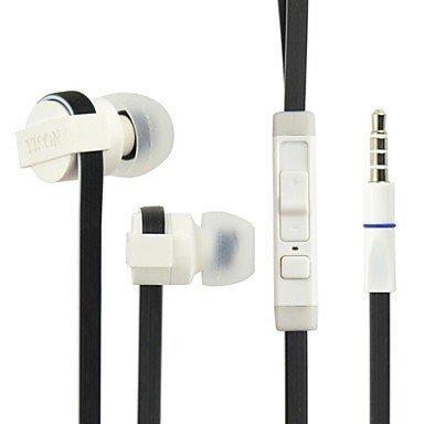 Yison Creev Mark V Plus 4G / Creev Mark V Tough 4G Nero Alto Performance Rumore Isolare In Ear Stereo Cuffia (CX390) Con Costruito In Microfono e Telecomando