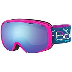 Bollé Royal Masque de Ski Fille, Rose Mat & Bleu, S