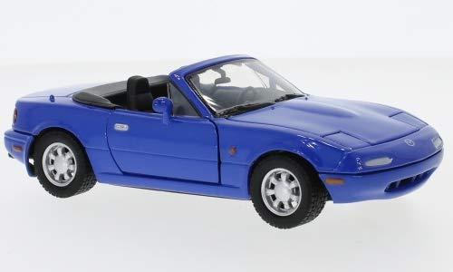 Mazda MX-5 Miata, Blu, 0, Modellino Auto, Modello Finito, Motormax 1:24