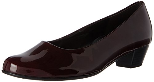 Gabor Shoes Damen Comfort Basic Pumps, Rot (95 Merlot), 39 EU