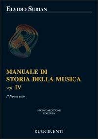 Manuale di storia della musica: 4