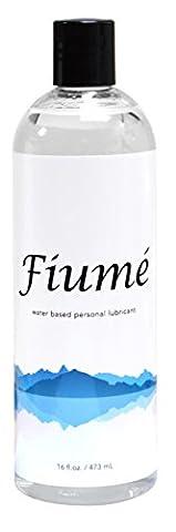Fiumé - Lubrifiant - Gel à base d'eau pour les hommes pour les femmes de 16 Fl oz