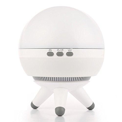 Ocamo drehbarer LED Projektion LED mit Projektor-Deko, Nachtlicht, Weiß weiß (Ge-licht-schalter)