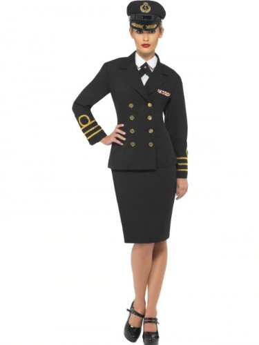 Karneval Damen Kostüm Stewardess Flugbegleiterin Uniform Größe 36/38 (Stewardess Uniform)