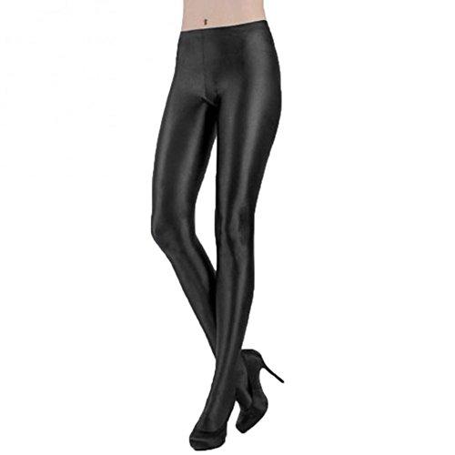MARIE CLAIRE - Media Panty Sra Piel Gato Mujer Color: Negro Talla: Medium