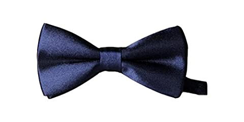 UtopyaUK® Kids Boys Children Satin Solid & Novelty Wedding Party Adjustable PreTied Bow Tie Quality Dickie