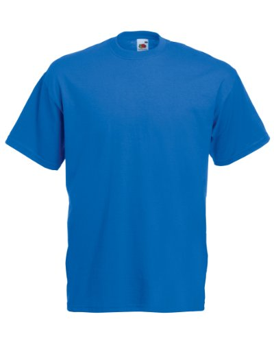 Fruit of the Loom T-Shirt S-XXXL in verschiedenen Farben S,Royal (S/s Royal T-shirt)