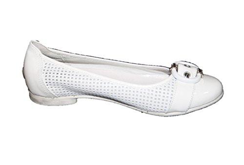 Cherie Kinder Schuhe Mädchen Ballerinas 7828 Weiß