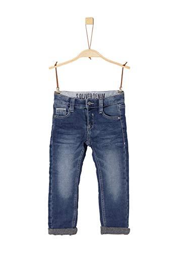 s.Oliver Junior Jungen Jeans 63.810.71.3254, Blau (Blue Denim Stretch 57z7), 110 (Herstellergröße: 110/REG)