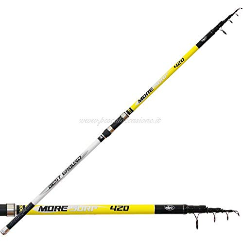Kolpo more surf canna da pesca surfcasting 420 mt 200 gr