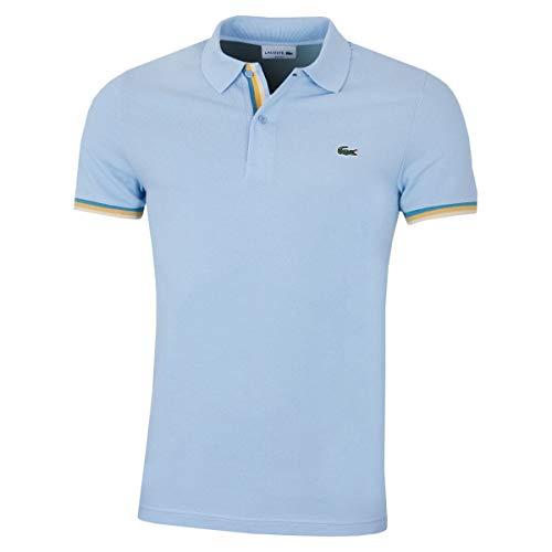Lacoste PH4220 Herren Polo Shirt Kurzarm,Männer Polo-Hemd,2 Knopf,Regular Fit,Creek(G5J),XX-Large (7)