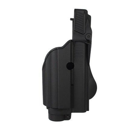 Neue Schwarz imi-z1600–TLH Tactical Light/Laser Level II Holster für Glock