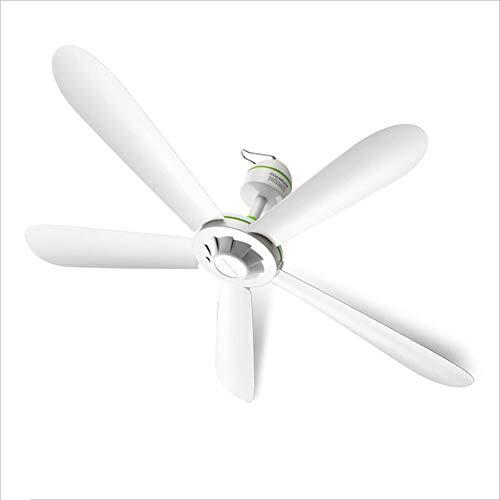 ZXZJ Ventilador doméstico, sala de estar, ventilador de techo silencioso, mosquitera de dormitorio...