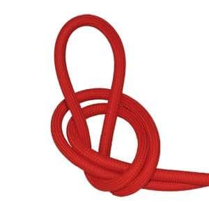 C ble lectrique textile fil lectrique tissu rouge - Cable electrique tissu ...