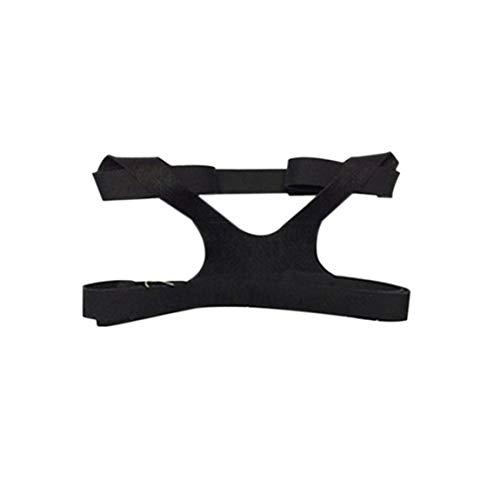 Universal Design Headgear Comfort Gel Vollmaske Sichere Umwelt Ersatz CPAP Kopfband Ohne Maske Für PHILPS (farbe: schwarz) -