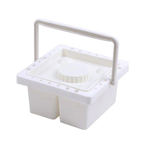 mylifeunit Farbe Pinsel Waschmaschine, Künstler Pinsel Badewanne Pinsel Becken Halter mit Griff (Tragbare Teile Waschmaschine)