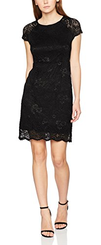 ONLY Damen onlSHIRA LACE Dress NOOS WVN Kleid, Schwarz Black, 40