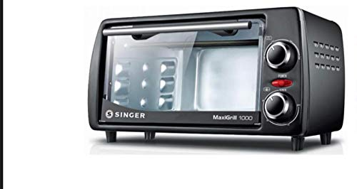 Singer Maxigrill 1000 Oven Toaster Griller with 10 Litre Capacity (Black)