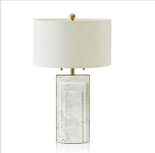 Lámpara de mesita de noche de lujo moderna Lámpara de mesa de ...