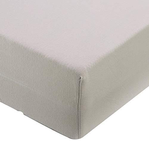 CelinaTex Lucina for Kids Baby Spannbettlaken Doppelpack 60x120 - 70x140 cm silber grau Baumwolle Spannbetttuch