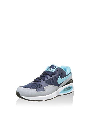 Nike Wmns Air Max ST, Chaussures de Sport Femme Bleu - Azul Marino (Mid Navy / Td Pl Bl-Wlf Gry-Blk)