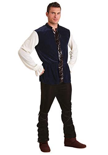 Plus Size Medieval Tavern Man Fancy Dress Costume 3X