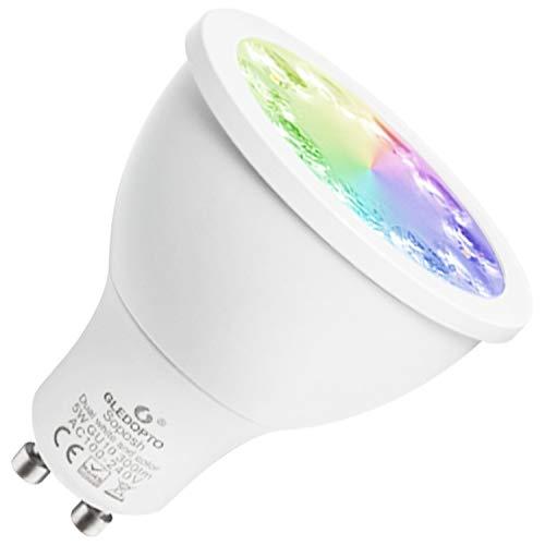 LED Gu10 Spot Leuchtmittel ZigBee Kompatibel 230V Warmweiß-Kaltweiß (CCT) / RGBW (RGB+Warmweiß) / Dimmbar (Warmweiß) / RGB+CCT Dual-White and Color (RGB+CCT Farbwechsel und Weißtöne) Dual-white Led