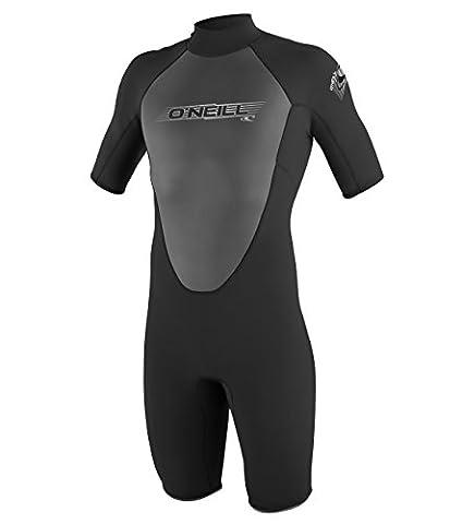 O'Neill Wetsuits Herren Neoprenanzug Reactor 2 mm Spring Wetsuit, Black, XL, 3799-A05
