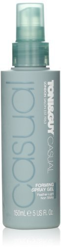 Toni&Guy Casual Forming Spray Gel, 5 Fluid Ounce by Toni&Guy [Beauty] by Toni & Guy -