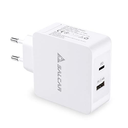 SALCAR Adaptador Corriente USB-C 18W PD Tipo-C 5V