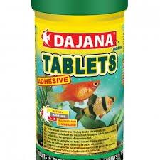 Dajana FD Tablets – Aliment spécial pour poissons en comprimés adhésives