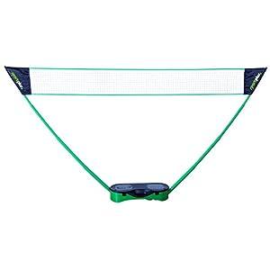 SportPlus Volleyballnetz in Verschiedenen Ausführungen, wahlweise als Set mit 3 Höhenverstellbaren Netzen Oder als Set mit Federballschlägern und Federbällen