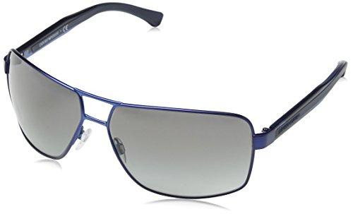 Emporio Armani Herren 318811 Sonnenbrille, Blau (Matte Dark Blue), 64