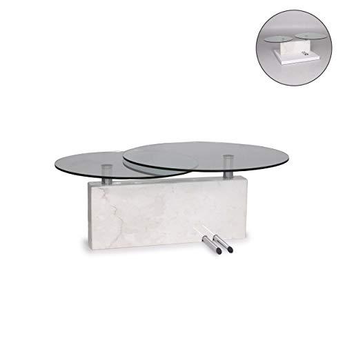 Rolf Benz Glas Marmor Couchtisch Funktion Tisch #12191