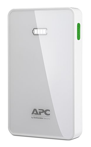 apc-mobile-power-pack-dual-slim-portable-power-pack-for-phones-and-tablets-m5wh-ec-5000mah-white