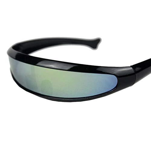 HYSBCHS Schwimmbrillen Womens Man Outdoor Fishtail Uni-Brillenglas Sonnenbrille Schwimmen Coole Wasserdichte Brille Reiten Radfahren Brillen BrillenA