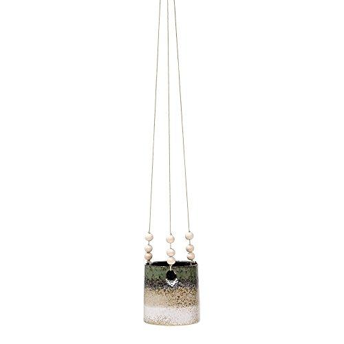 Bloomingville Flowerpot, Hanging, Green/Sand Ø12xL80xW13 cm [P]