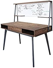 Mahmayi Ultimate CT 3610 Modern Computer Desk Workstation, Sturdy Compact Studying Table for Home and Office (