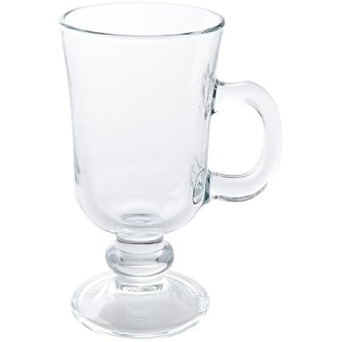 Ravenhead Entertain Irish Coffee - Taza para café irlandés (2 unidades), diseño transparente
