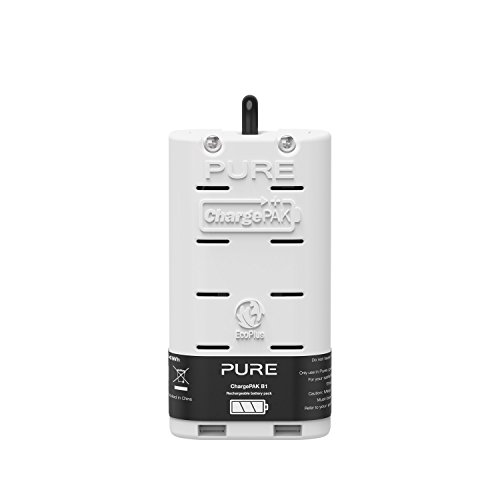 Genuine Pure Accessory - ChargePAK B1 Rechargeable Battery Pack for Pure One Mini Radio Test