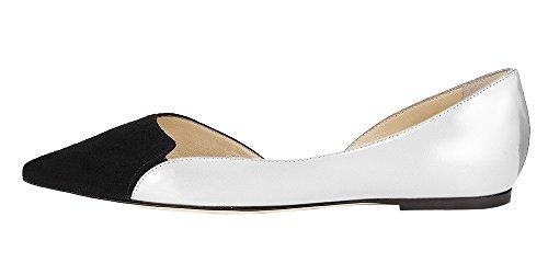 Guoar - Scarpe chiuse Donna Bianco