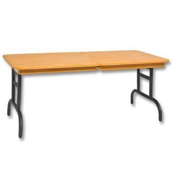 Brown Breakaway Table - Wrestling Figure Accessories (For Jakks or Mattel WWE Figures) by The Wrestling Stall (Wwe Action-figur Waffen)
