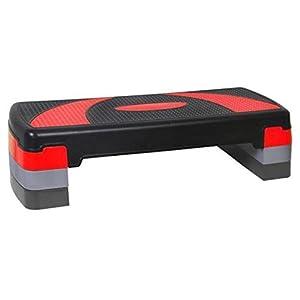 XS Sports Aerobic Stepper für Cardio/Fitness mit 3Ebenen, für Zuhause geeignet
