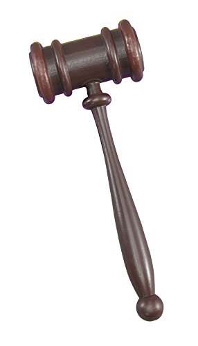 Gavel Hammer Accessory Fancy (Halloween Kostüm Hammer)
