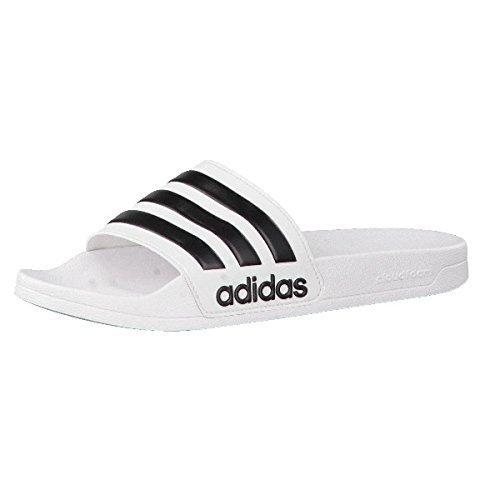 Adidas Chanclas Adilette Blanca 40 1 2