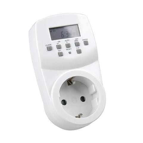 Unitec 46433 Minuterie hebdomadaire mini, Numérique, pour Usage intérieur (Import