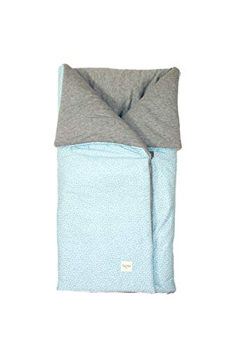 Imagen para Fundas BCN® - S10/6101 - Saco de algodón universal para cuco/capazo. Blue Safari.