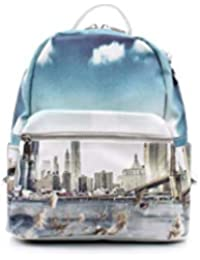 9efc40ee97 YNOT L-380 BACKPACK SMALL Donna STAMPA NY LANDSCAPE TU