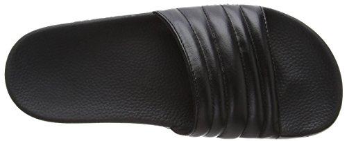 Slydes Port F, Sandales Plateforme Femme Noir (noir)