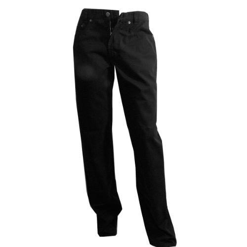 JOKER Jeans Harlem Walker Kreuzköper schwarz Schwarz